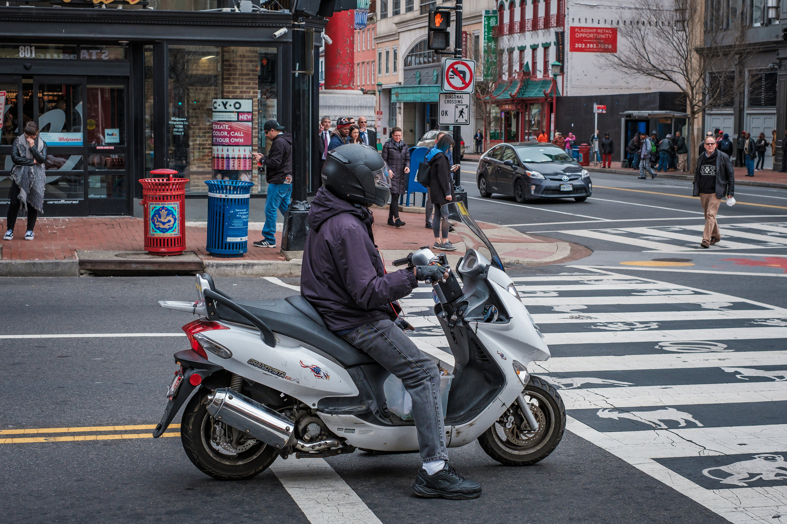 The Intersection  • Chinatown, Washington DC.   Fuji X-H1 and a Fujinon XF35 f1.4   ISO 400, f5.6, 1/250 of a second.