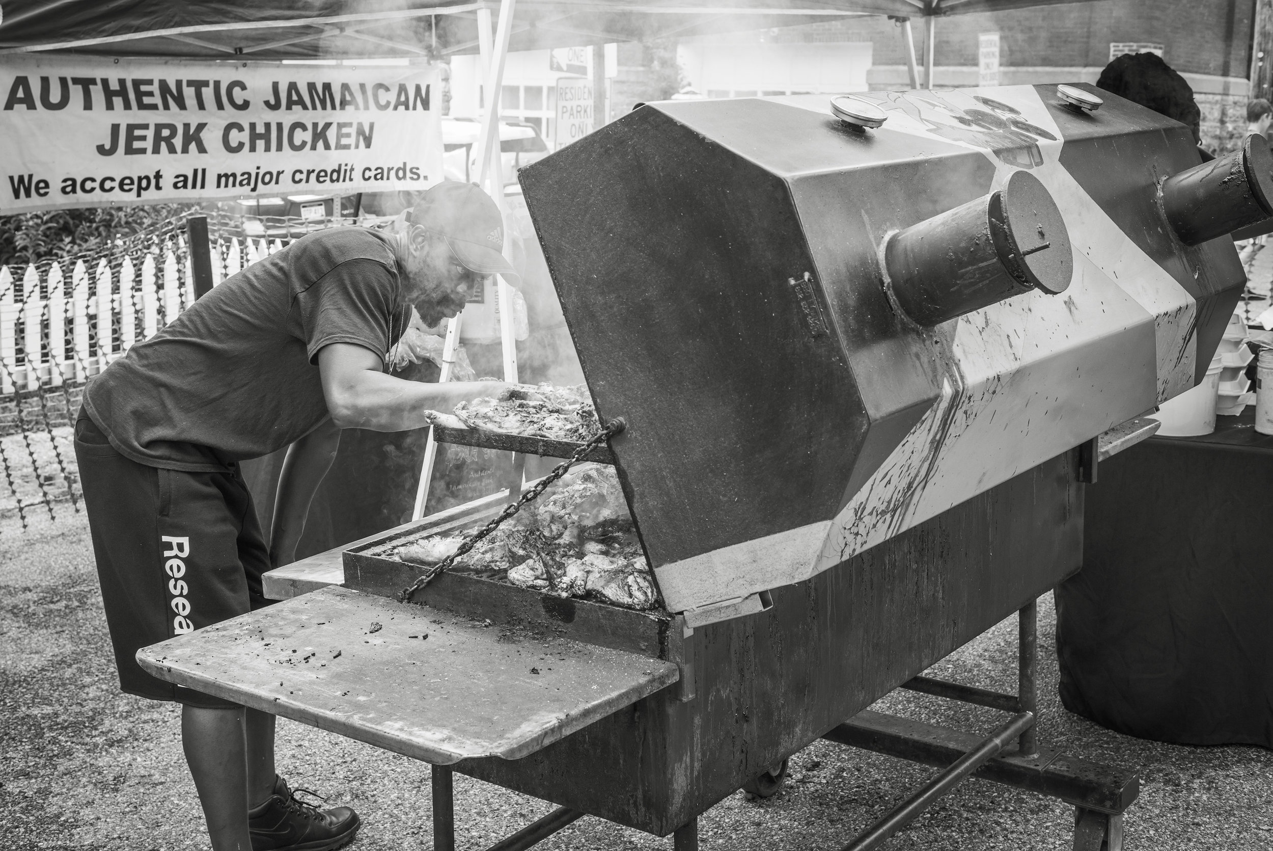 The Chicken Man • Voigtlander 28mm f2.0