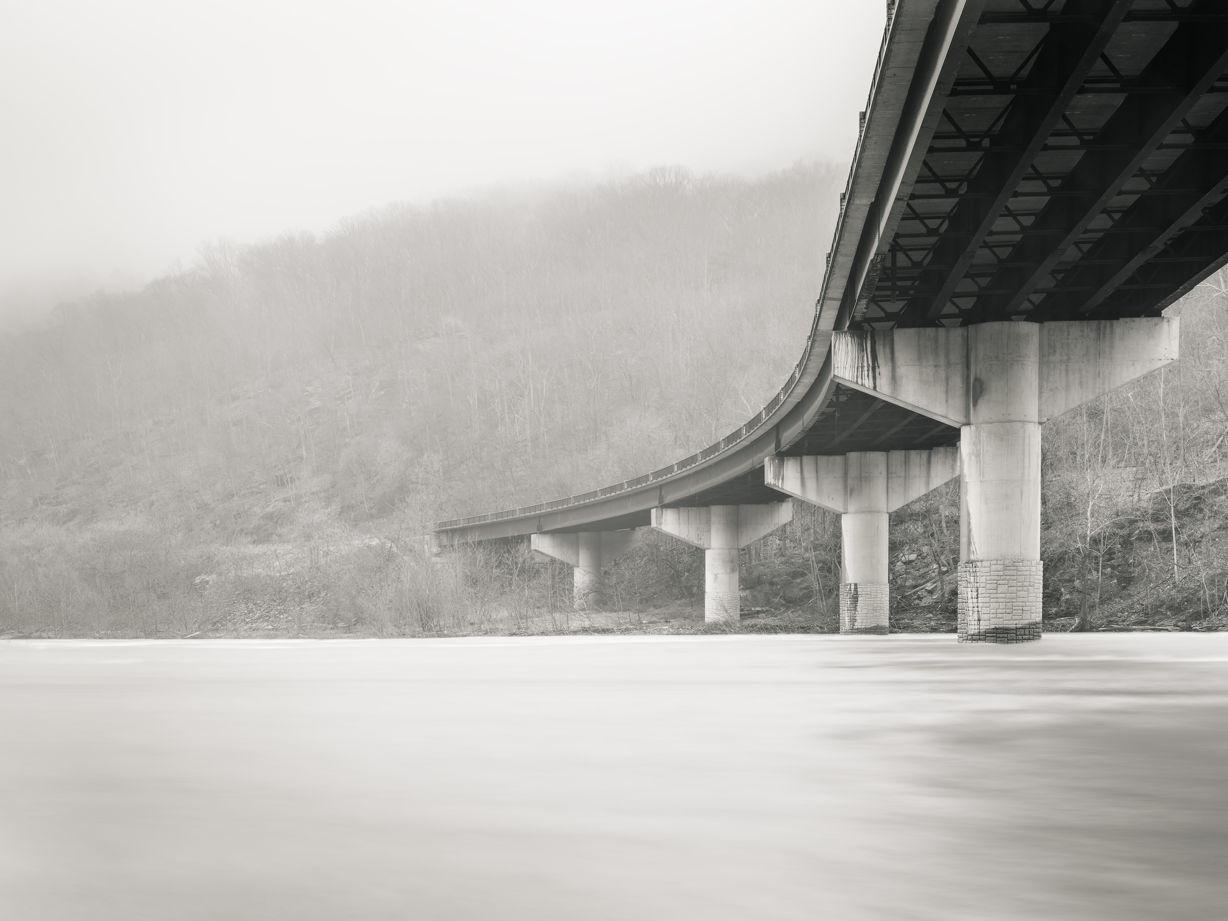 The Bridge No. 2, Harpers Ferry WV - Fuji GFX50s and a Fujinon GF32-64mm f4 R WR   ISO 100 at f11 for 120 seconds.