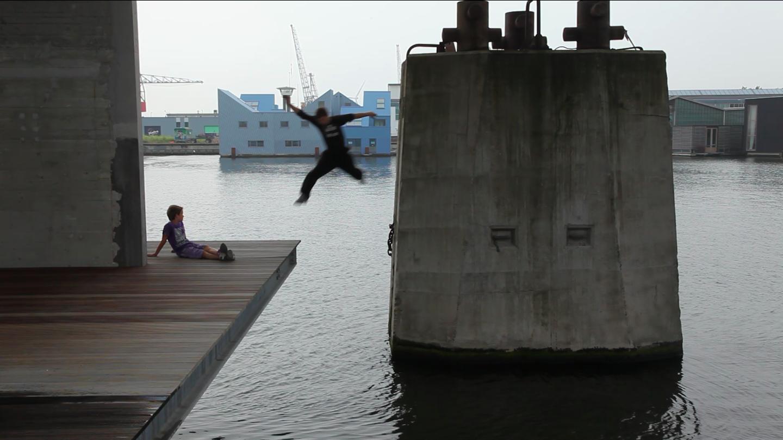 """""""Leap"""", Egle Budvytyte, video still"""