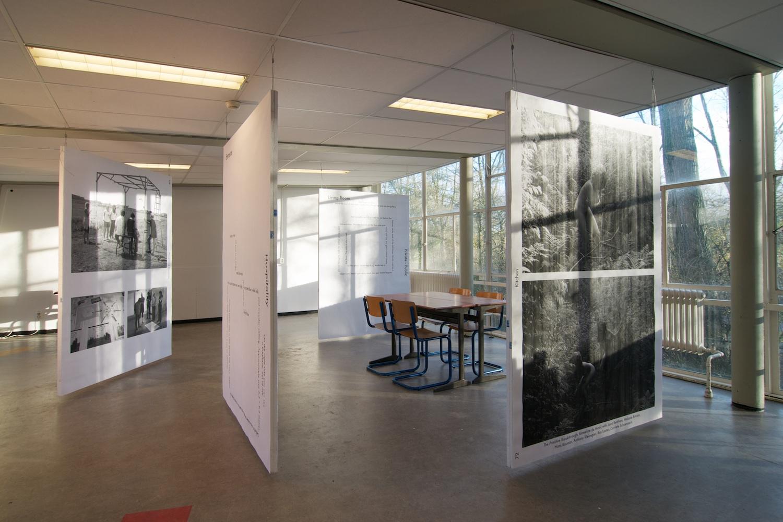 Kunsthuis SYB's stand at the Kunstvlaai, by Sandra Kassenaar and Niels Vis. Photo: Niels Vis.