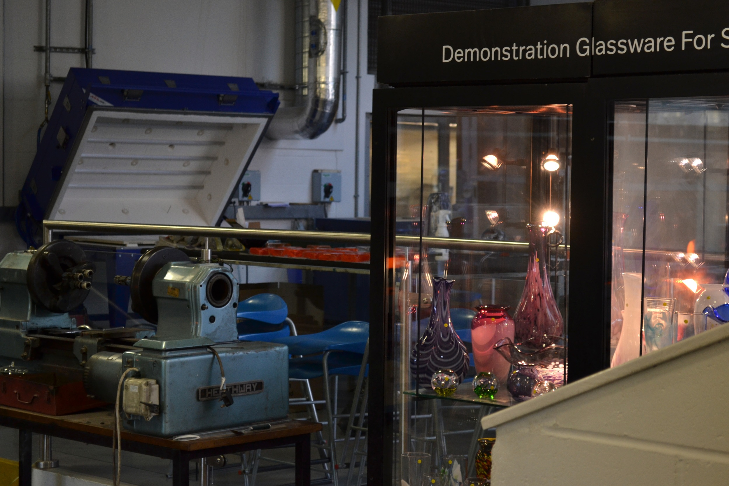 National Glass Centre Demonstration. 2015