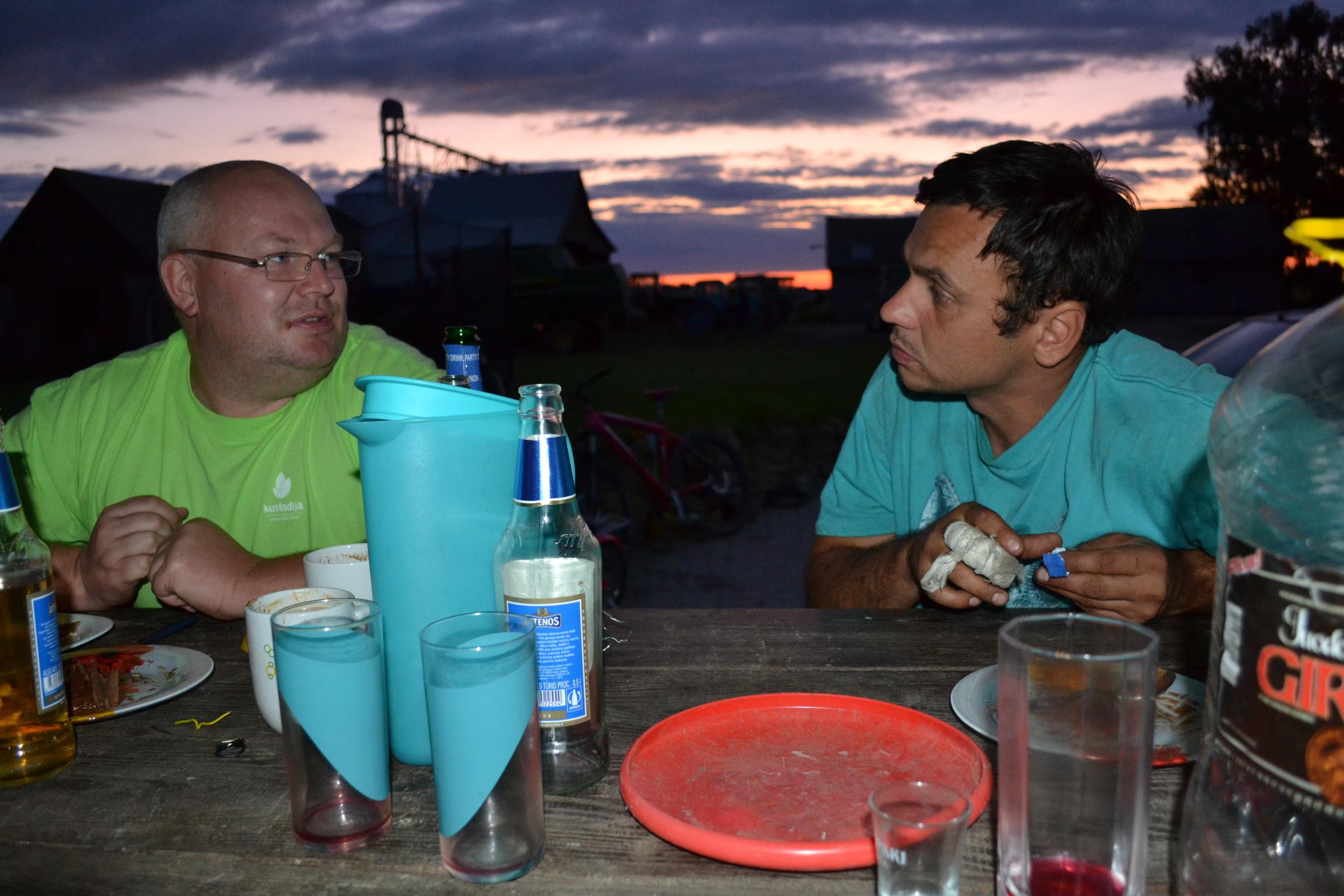 Dusk time Dinner, 2011.