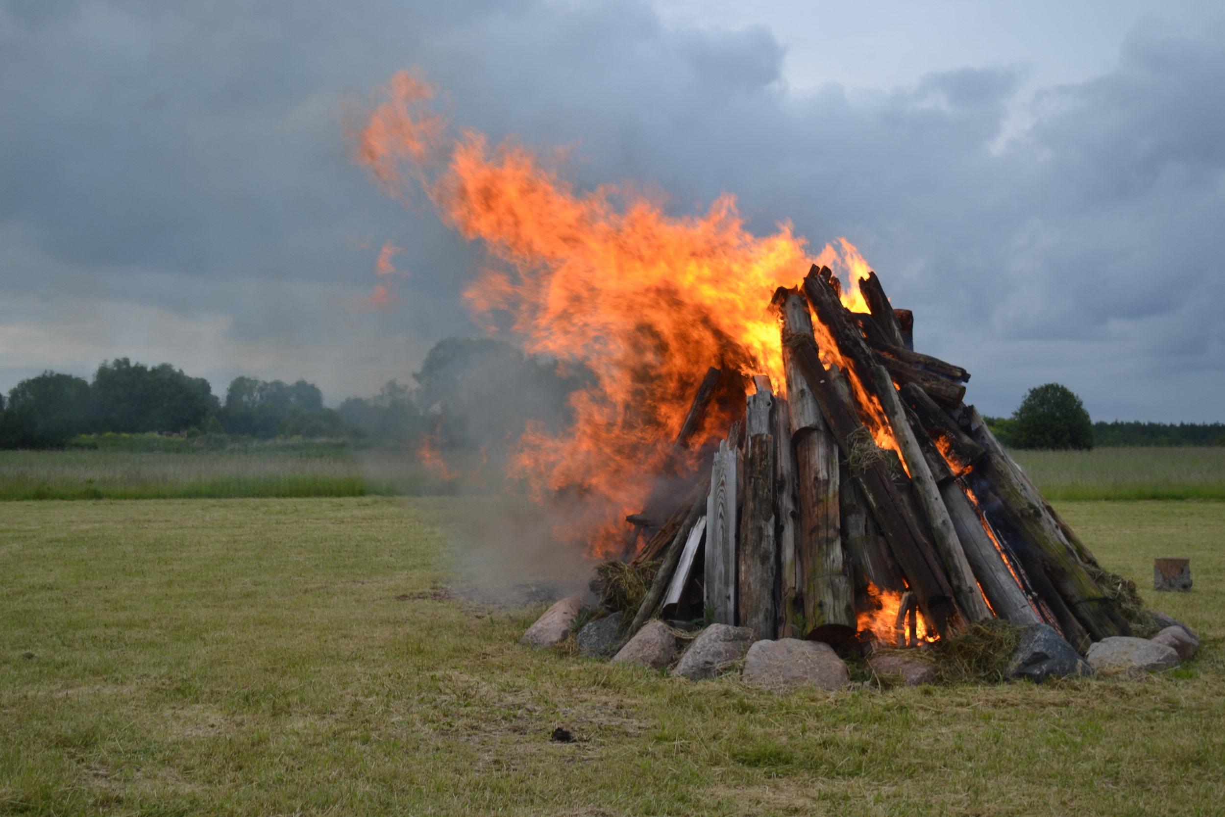 Midsummer Bonfire