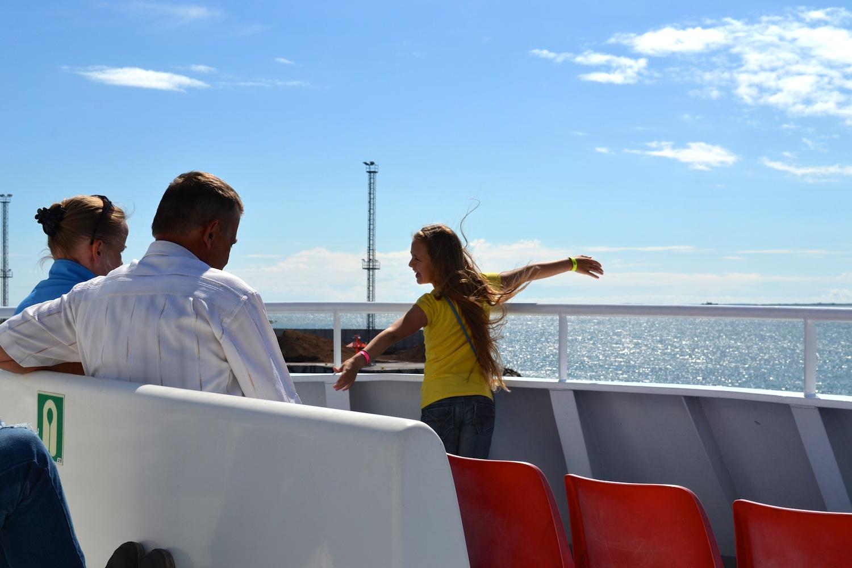Saaremaa Island Ferry, 2015
