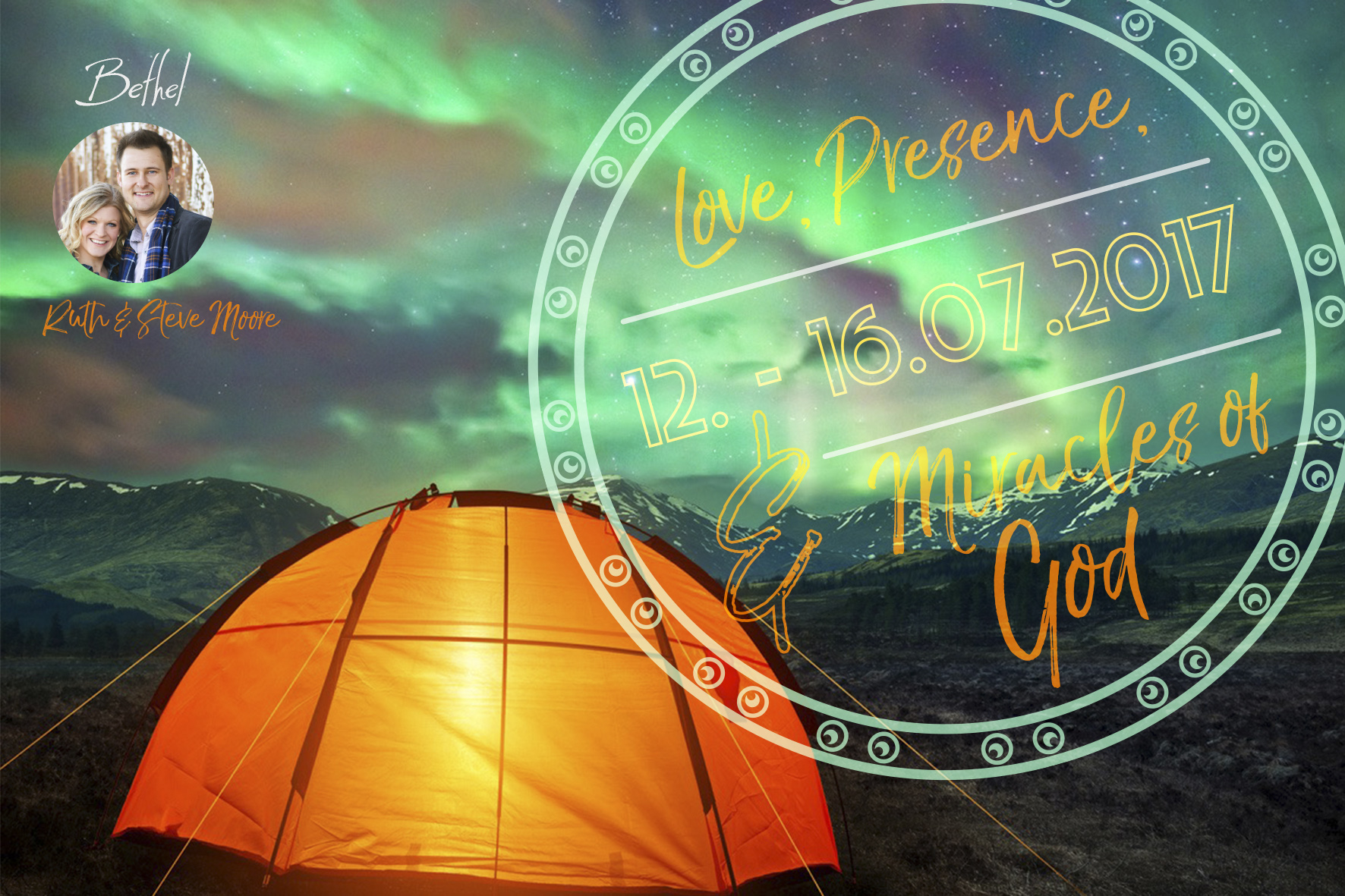 Love, Presence & Miracles of God - Conference    Tirol, Austria                July 12th - 16th, 2017