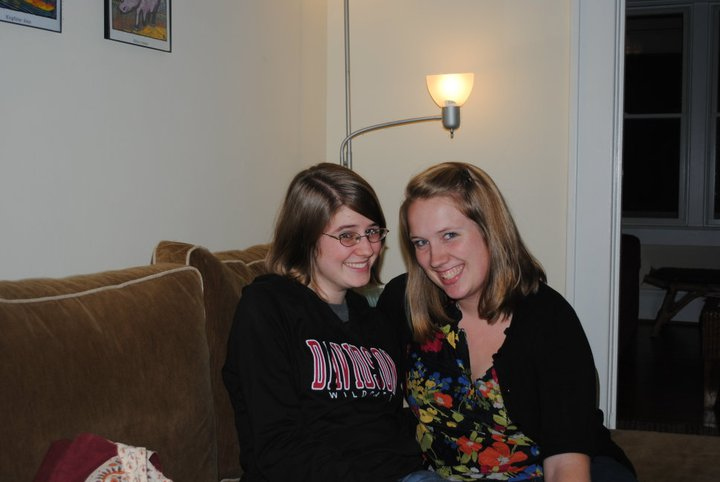 Allison and me in late 2010, not long after we graduated from college.