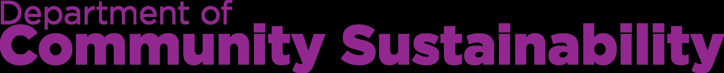 MSU CSUS Text Logo