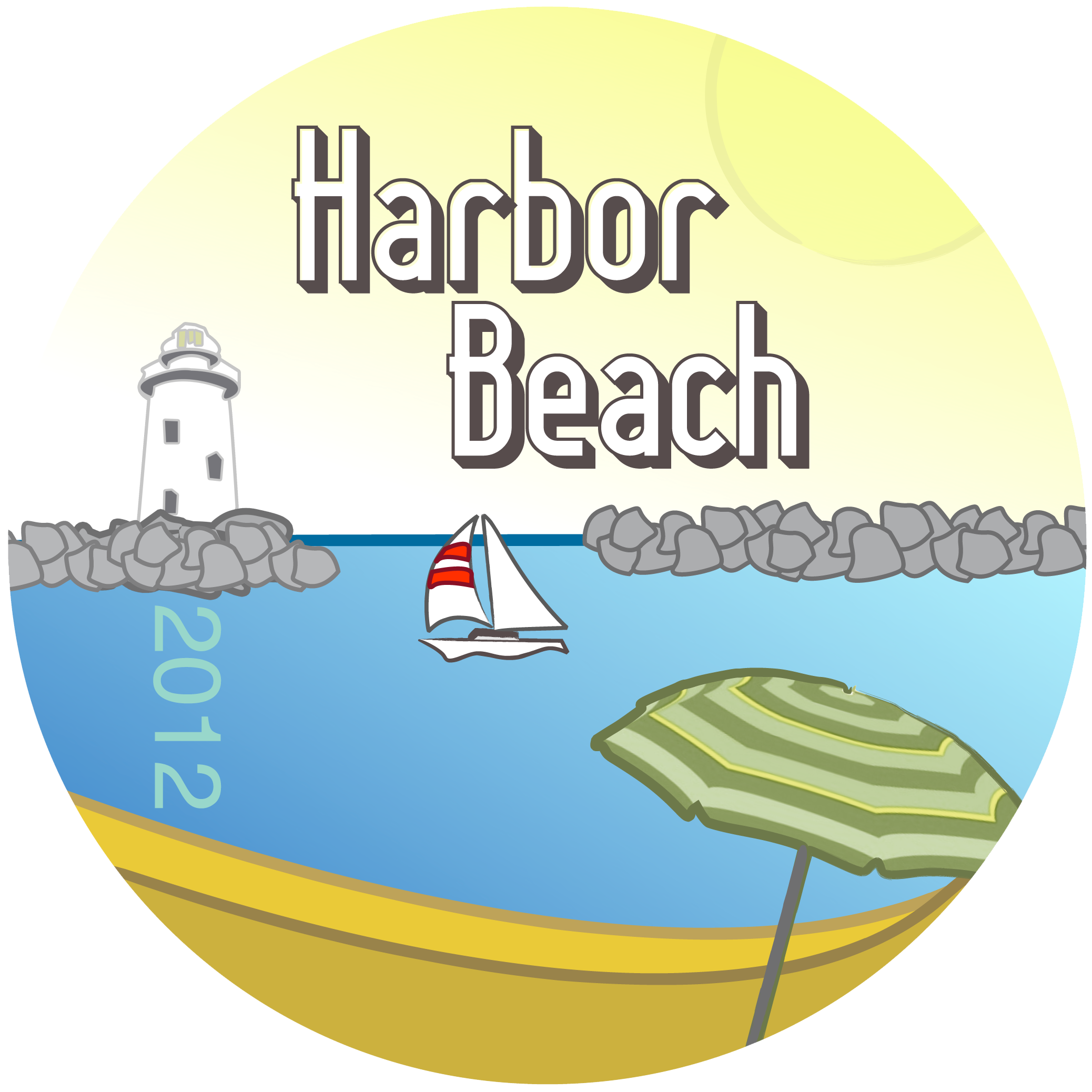 2012 Harbor Beach Button.png
