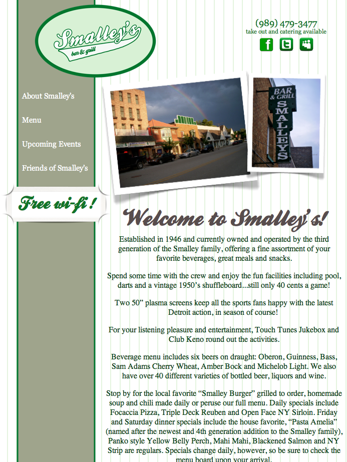 Smalley's Bar & Grill Screen Capture.png
