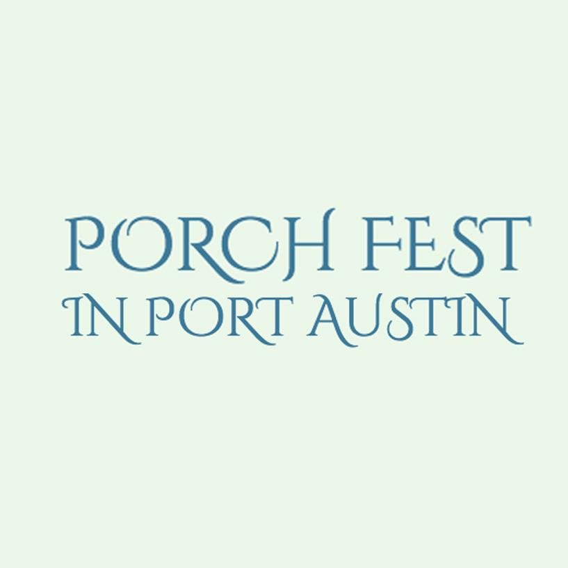 Porch Fest in Port Austin Logo