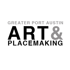 Port Austin Art & Placemaking Logo