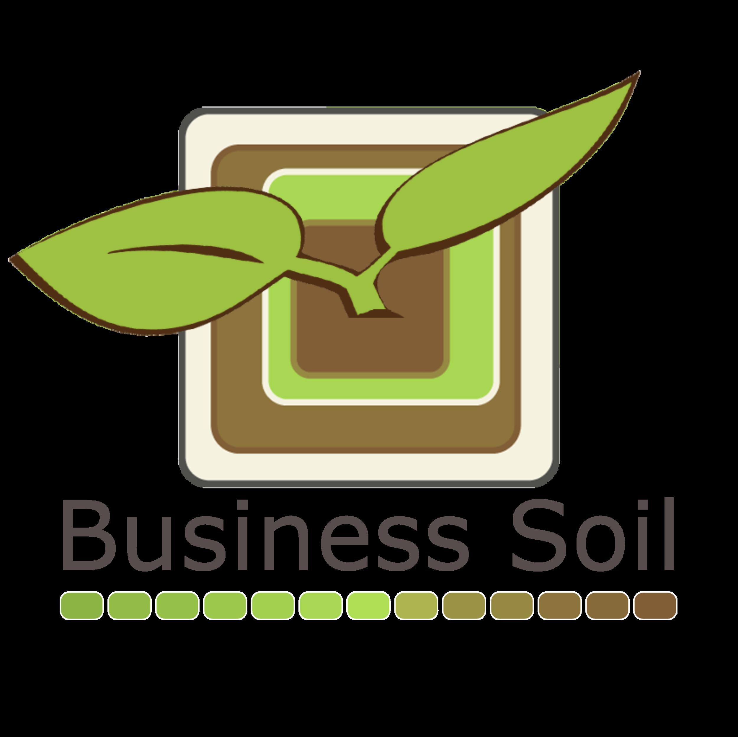 Business Soil Logo Vertical