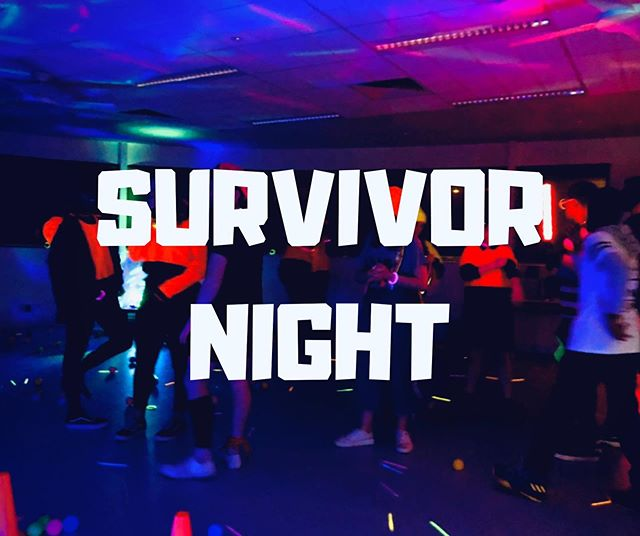 INY presents.... SURVIVOR NIGHT Calling all youth from grade 7-12 to come join us on our end of term battle this Friday night, who will outwit outplay outlast???🔥