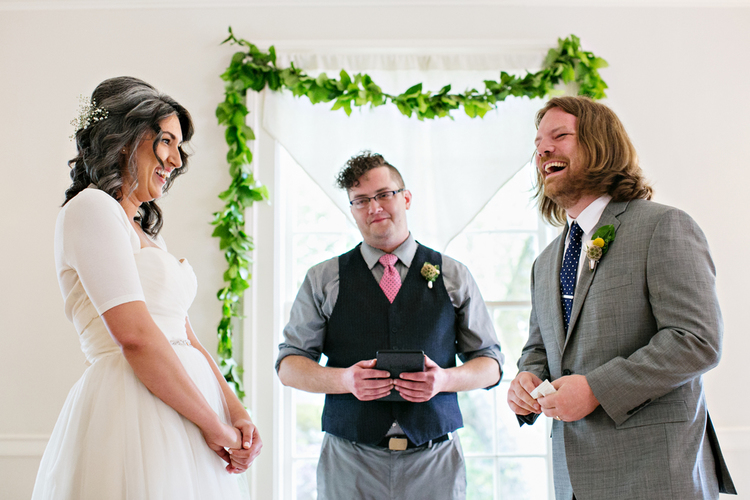 Seattle wedding, handmade bands