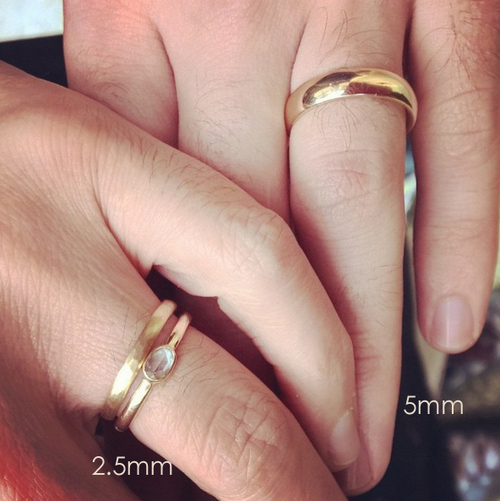 Band Widths — With These Rings