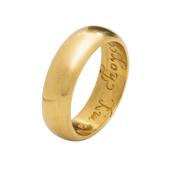 History of the Wedding Ring — With These Rings