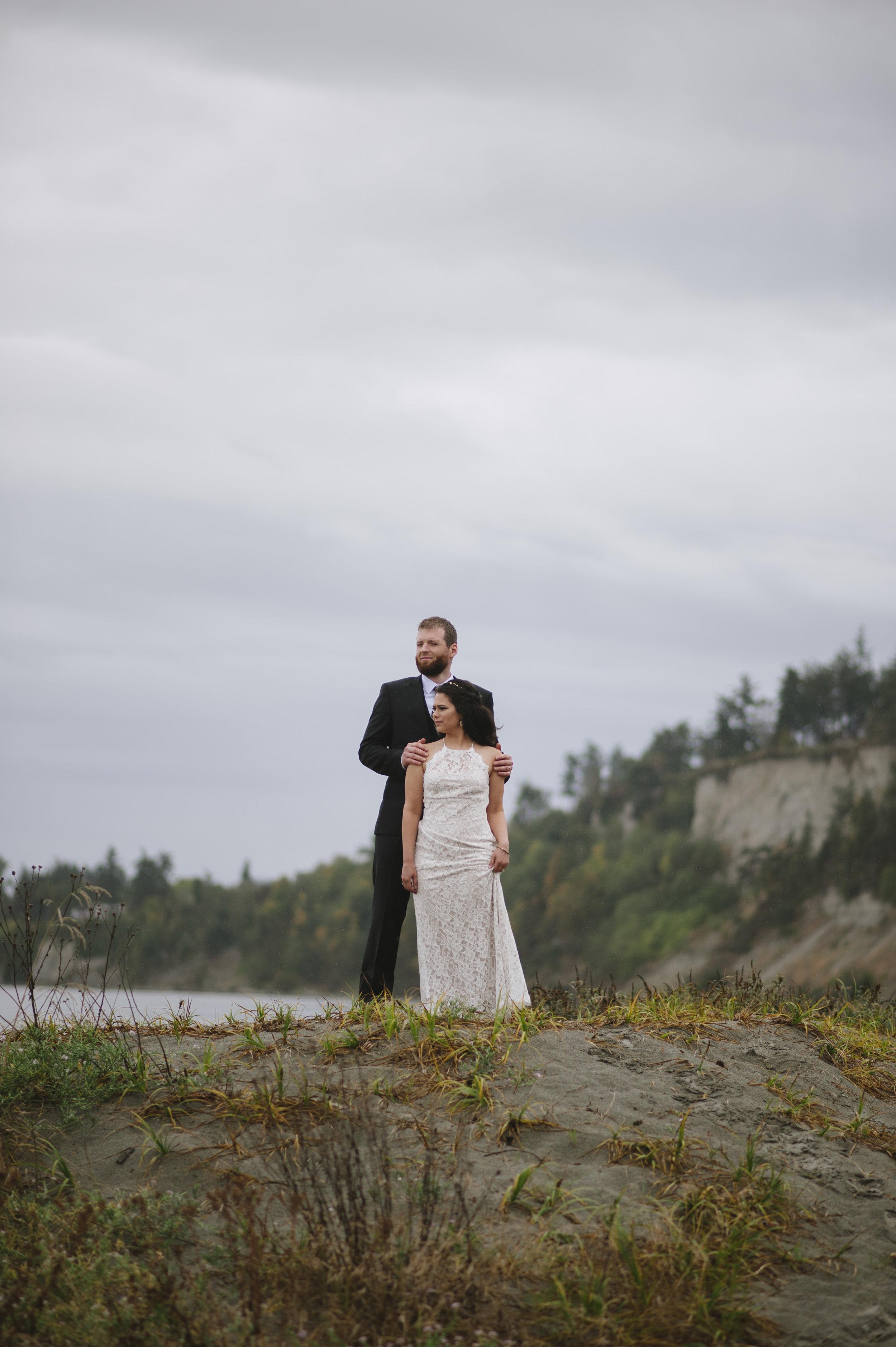 Beach, Couple, Washington State