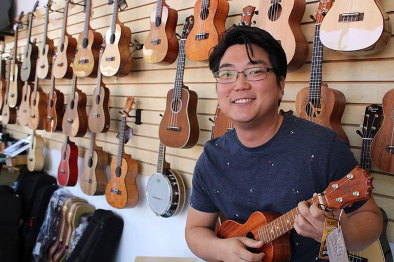 Daniel Ho Centrum Faculty Member & six-time Grammy Award Winner! Photo Credit:  Centrum