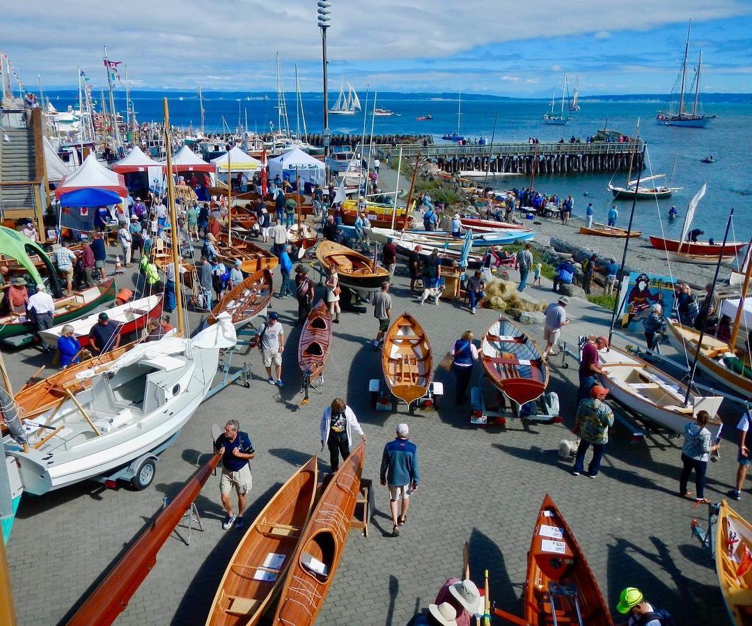 Photo Credit: Marty Loken/Wooden Boat Festival