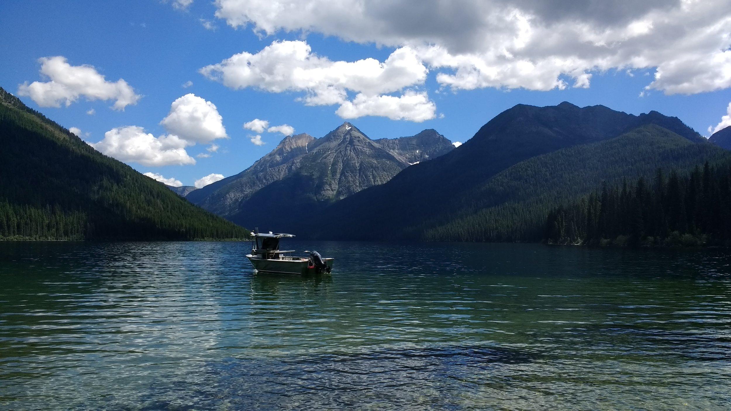 Quartz Lake, Glacier National Park // photo by Tom Sentner
