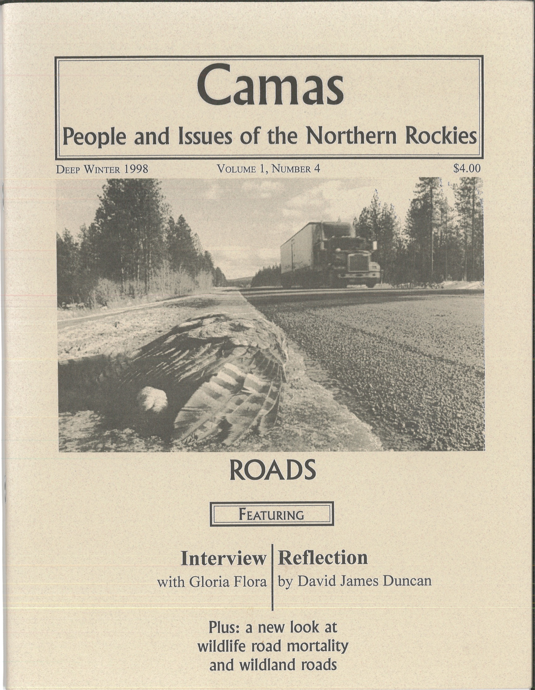 Deep Winter 1998: Roads - Featuring