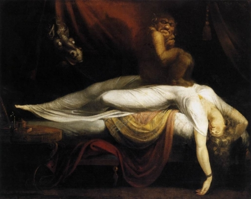Henry Fuseli,  The Nightmare  (1781).