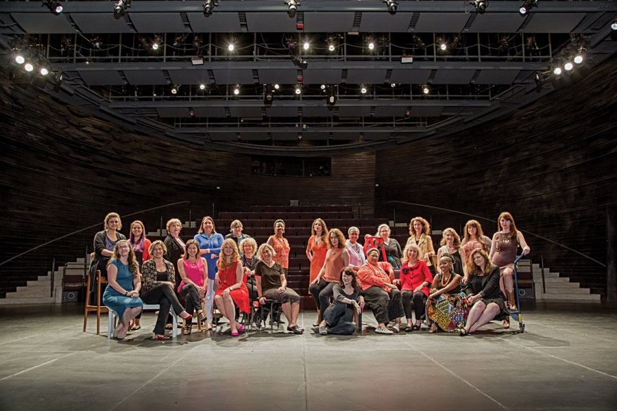 The Women's Voices Theater Festival playwrights in  American Theatre .