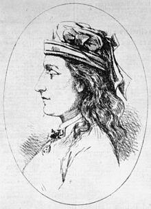 Lizzie Lloyd King in 1873.
