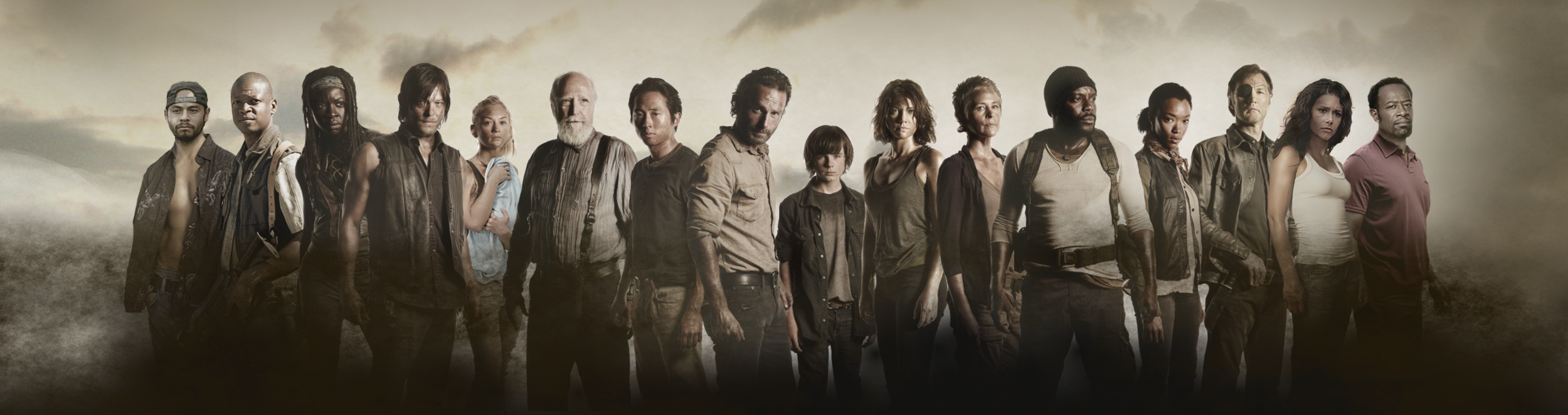 "Cast of ""The Walking Dead"""