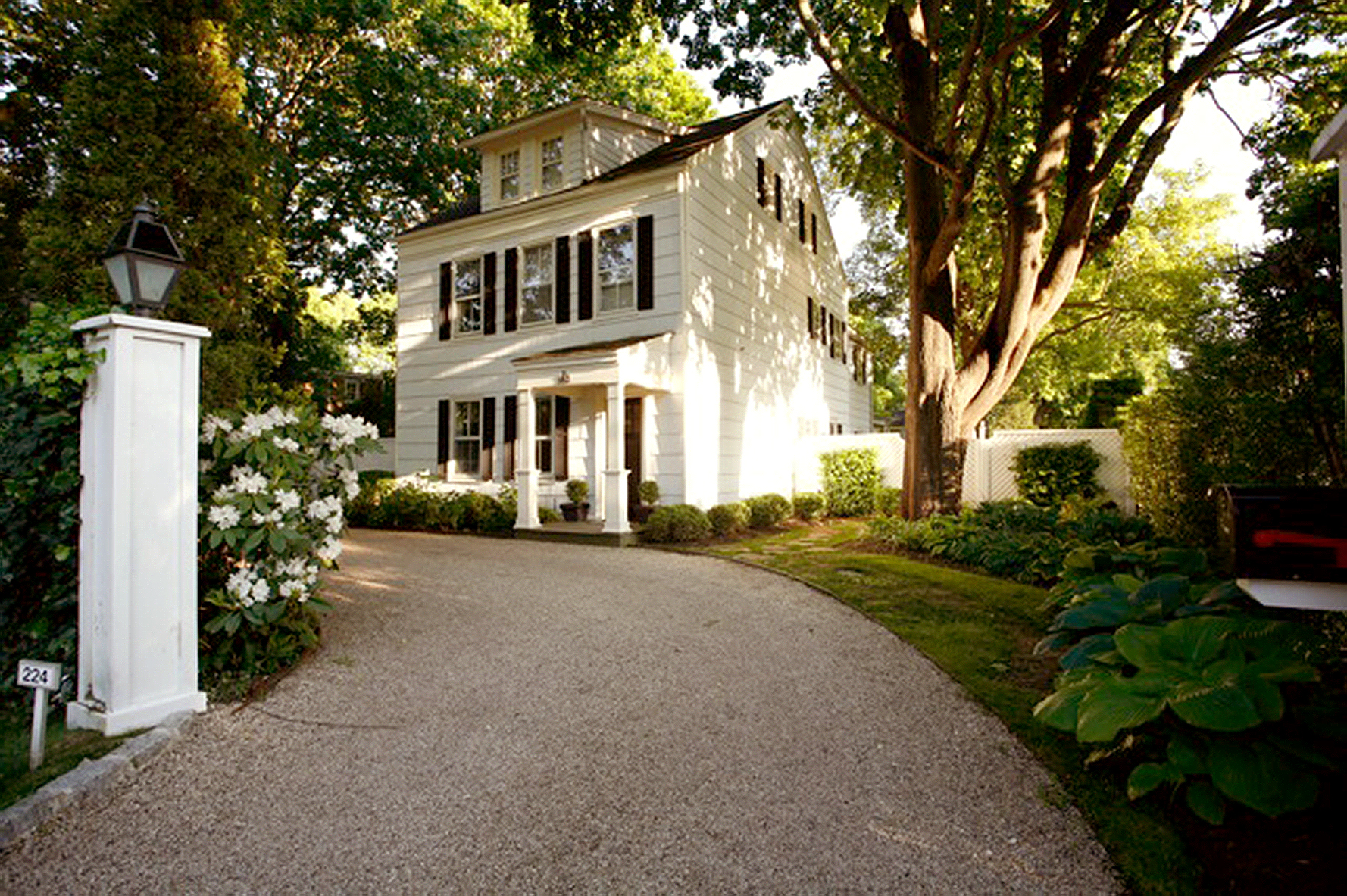 Victorian - Southampton, New York Transitional style interiors and bursts of color