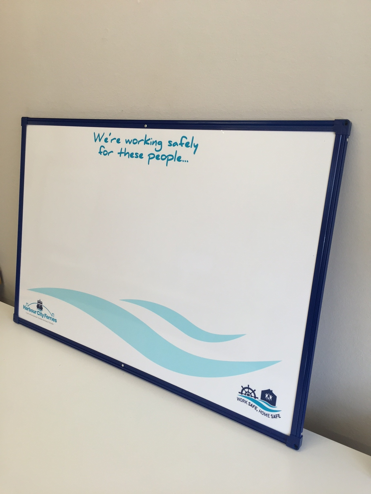 Sydney Ferries Whiteboards with Coloured frames