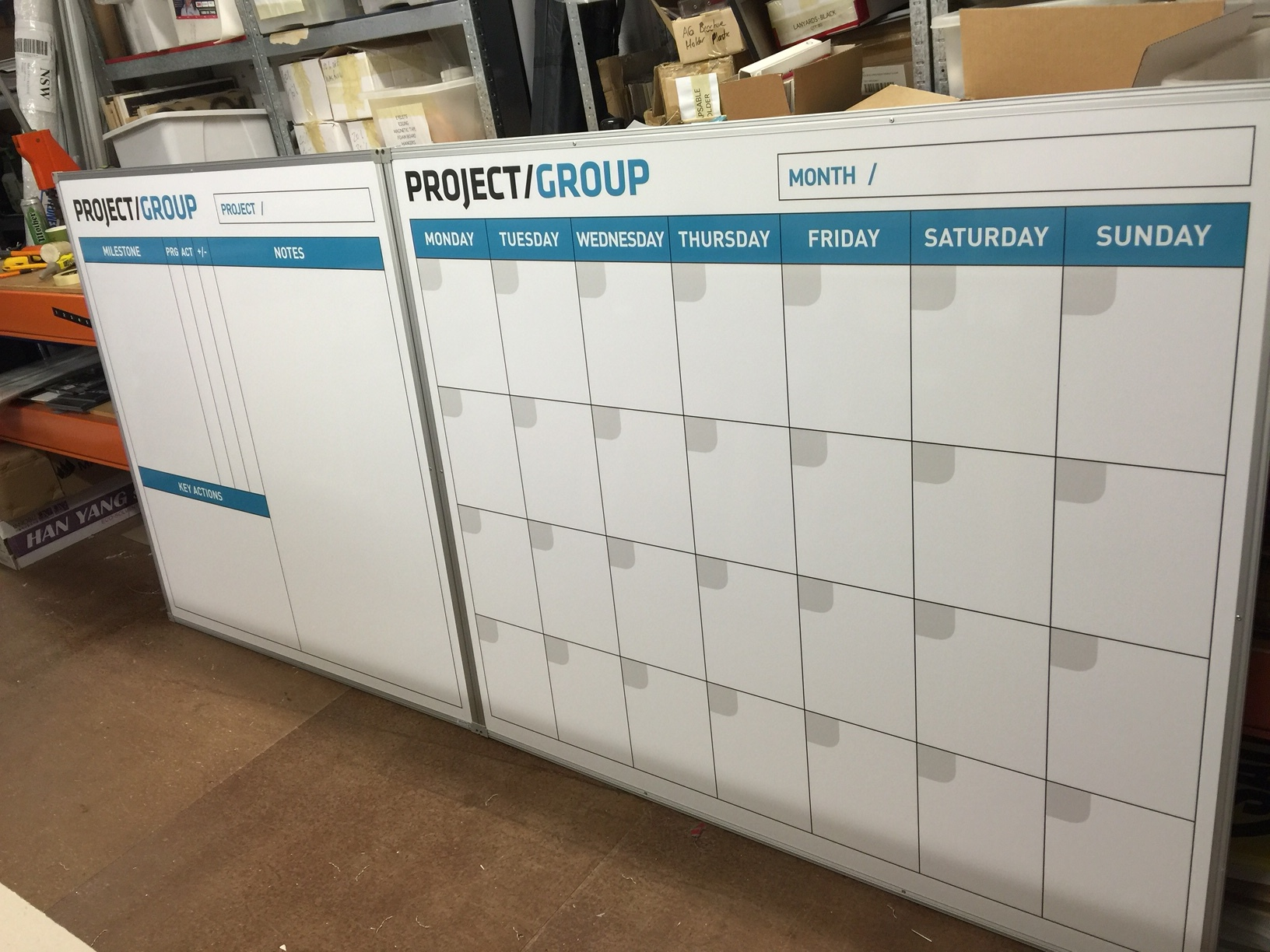 Building Project Planner - Site Boards