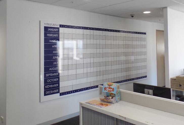 Whiteboard Wall - Calender/Planner