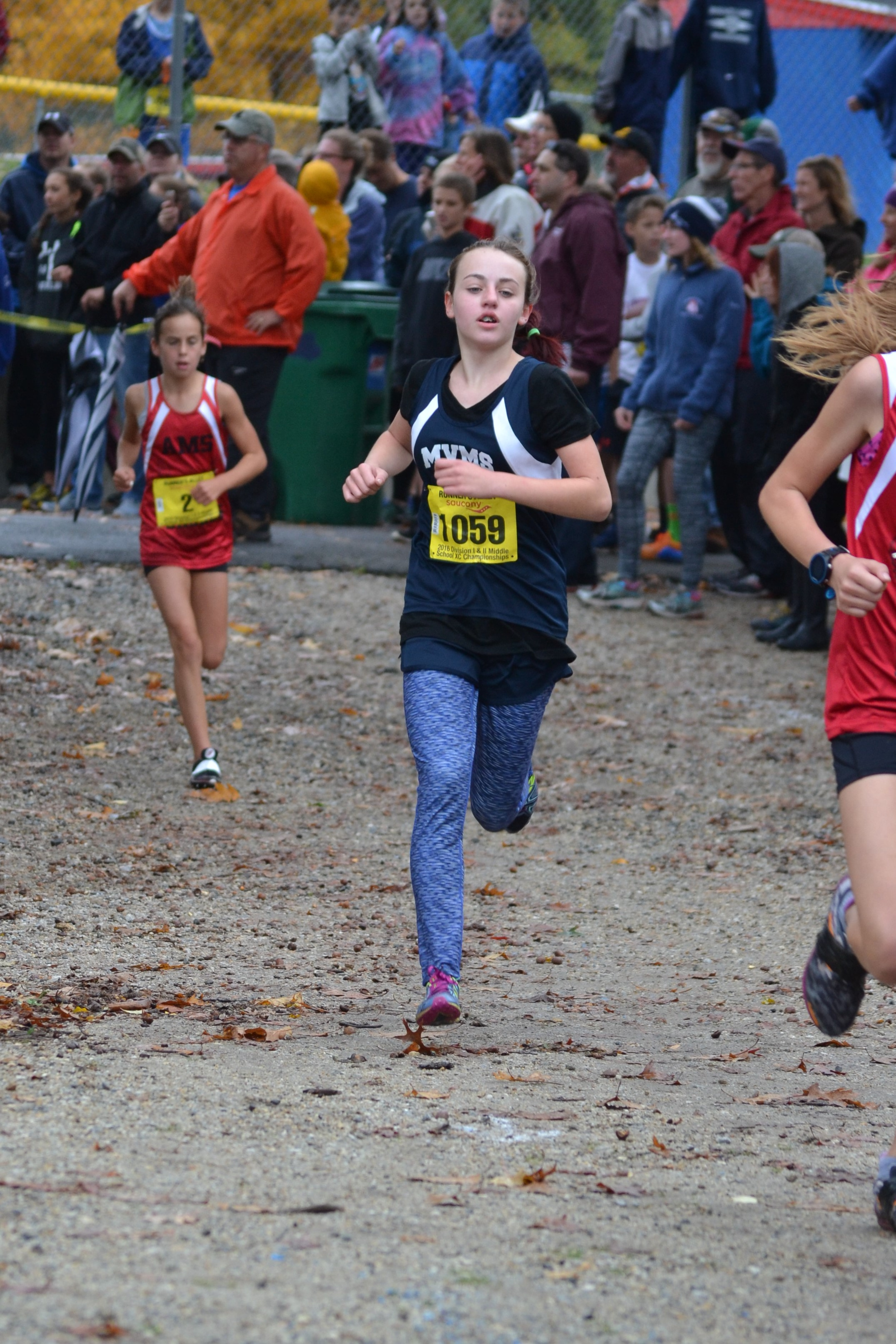 Sophia Runs Her Way to a Top-10 Finish at the Middle School DII Championship