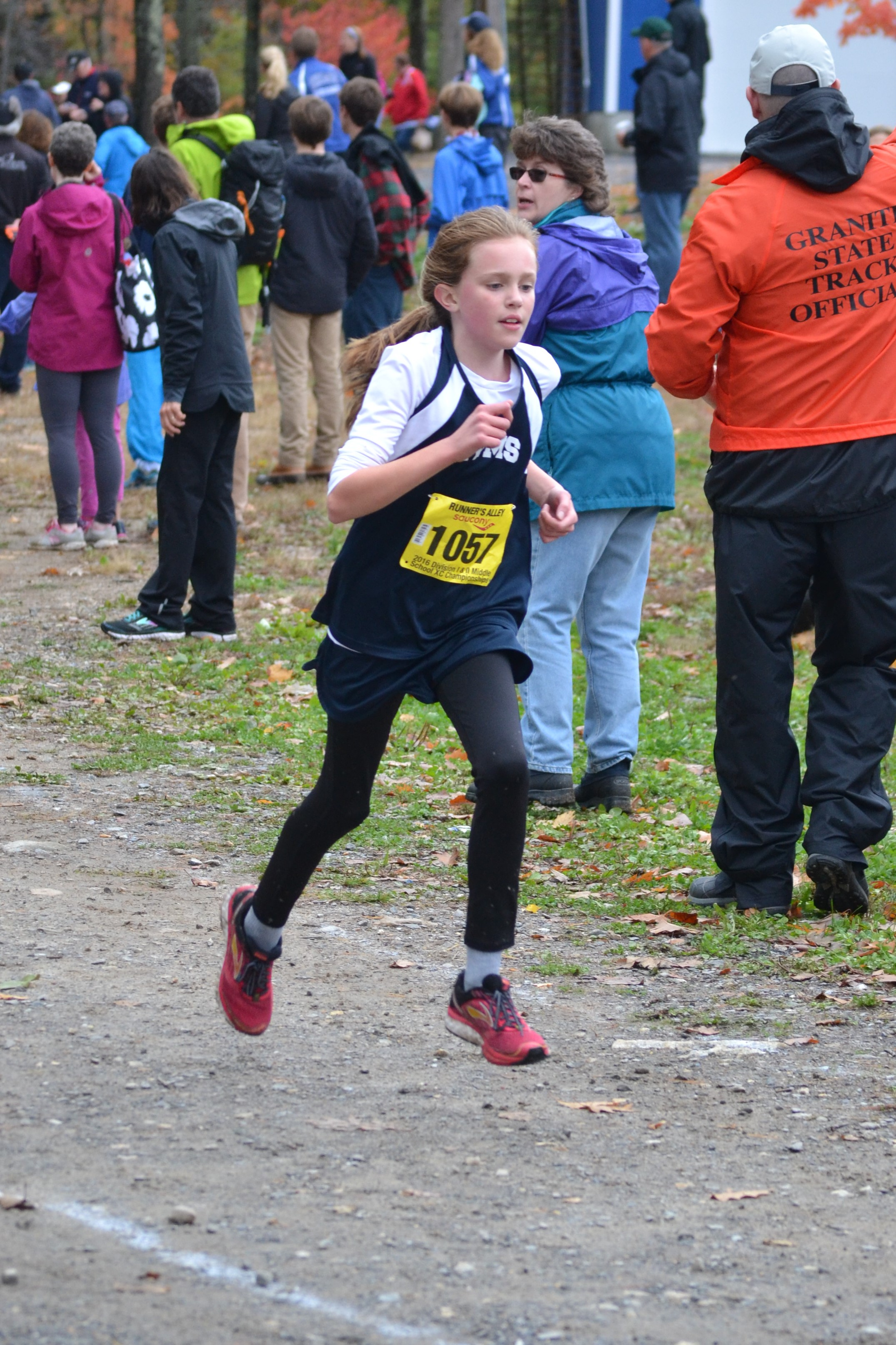 Samantha Cruises to a Fantastic 26th Place at thse Middle School DII Championship