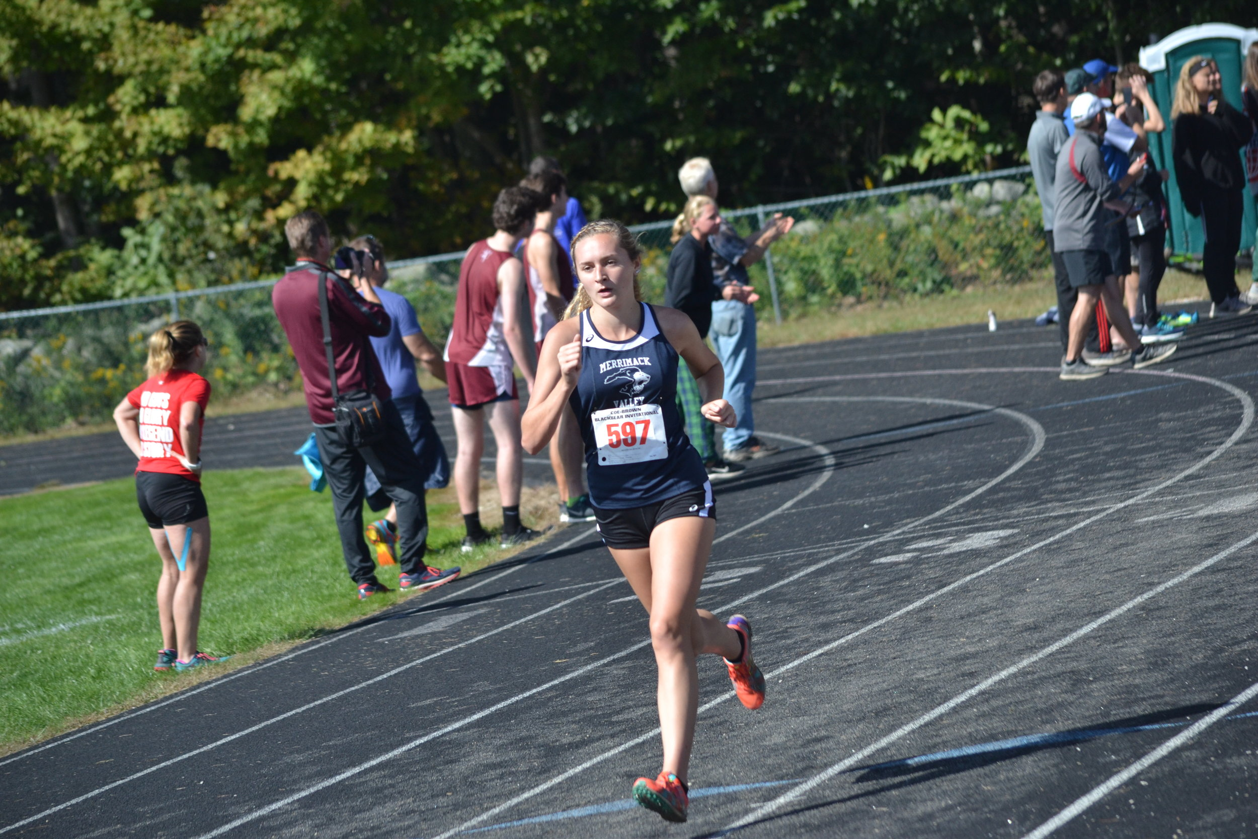 Maddy On Her Way to a PR