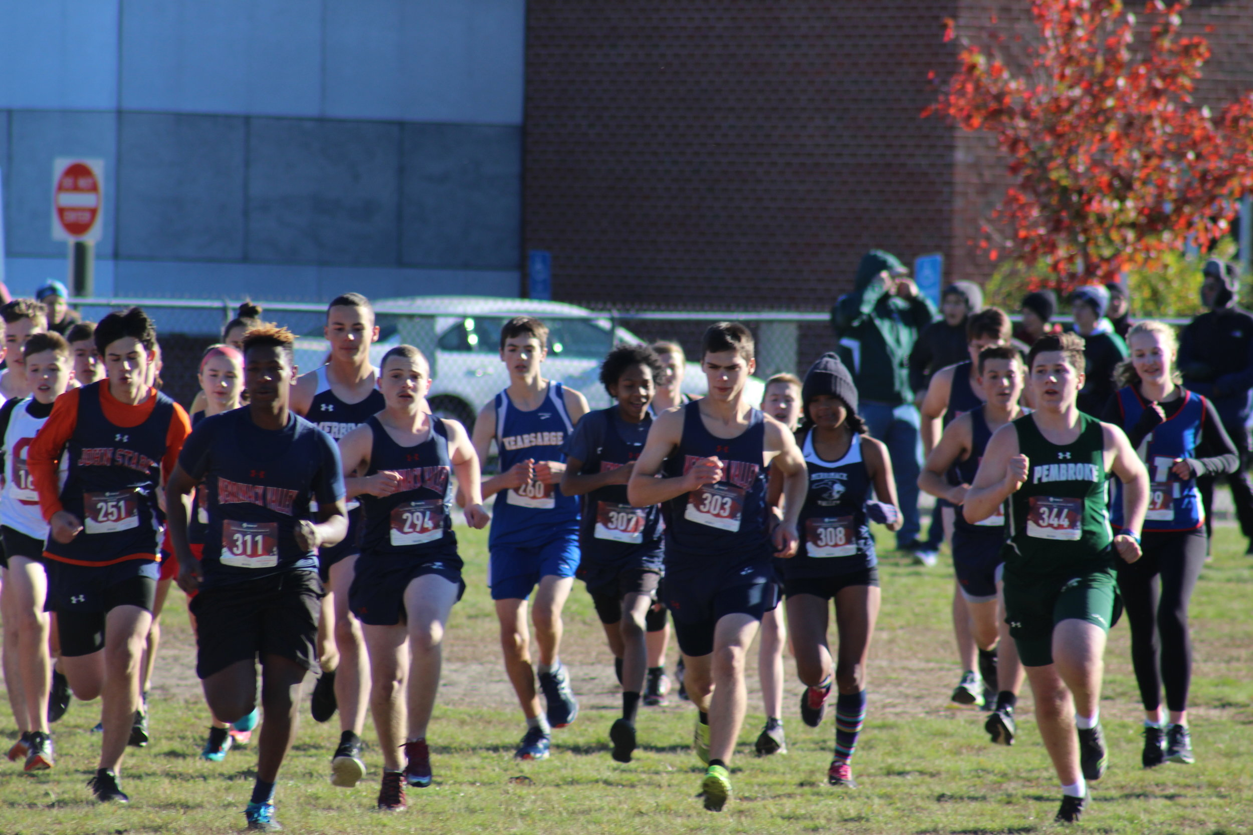 Start of Combined JV Race
