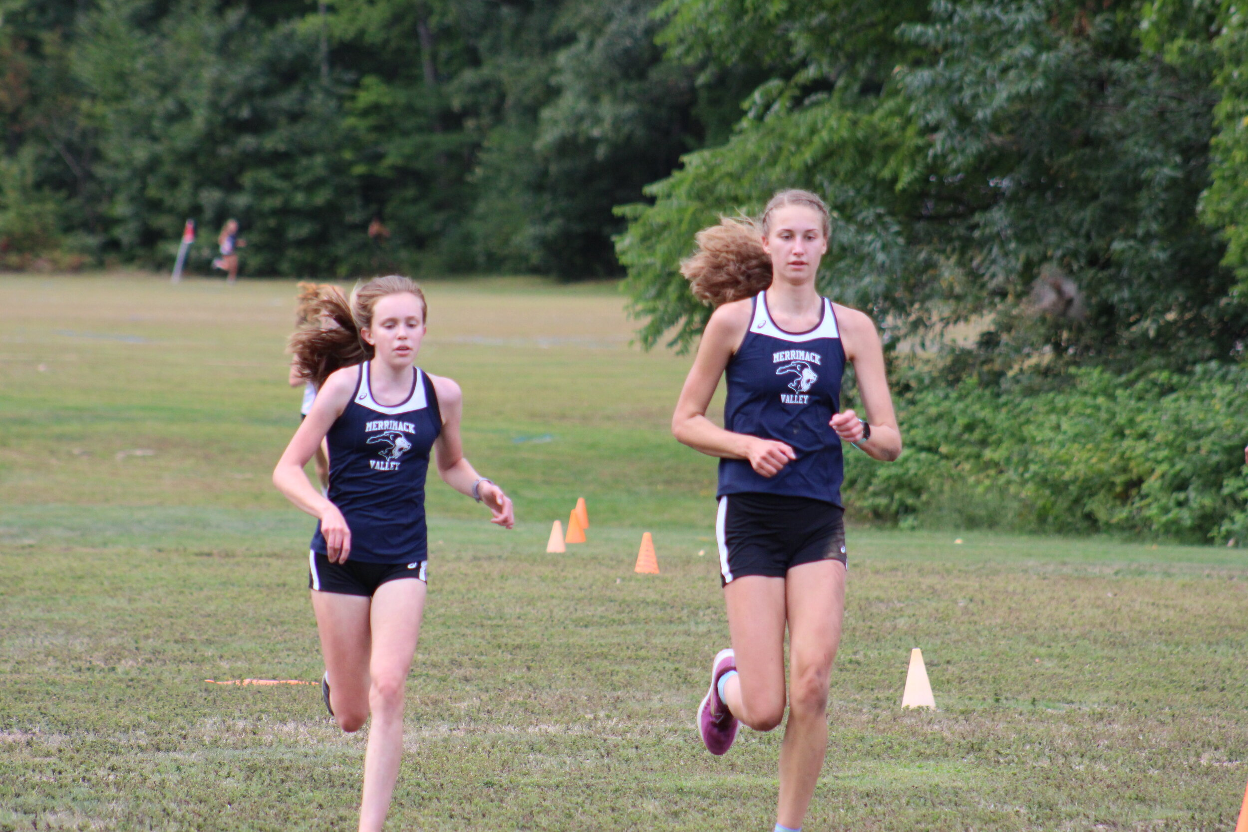 Sisters? Should Be. Sam and Emma Finishing.