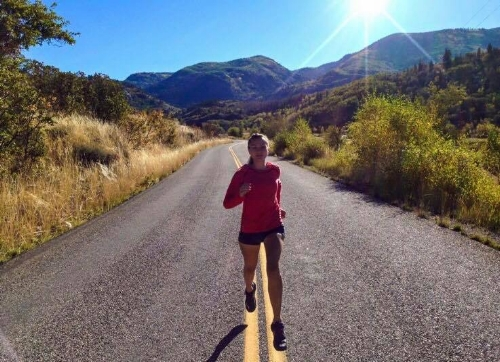 Ashley is an avid runner and yogi!
