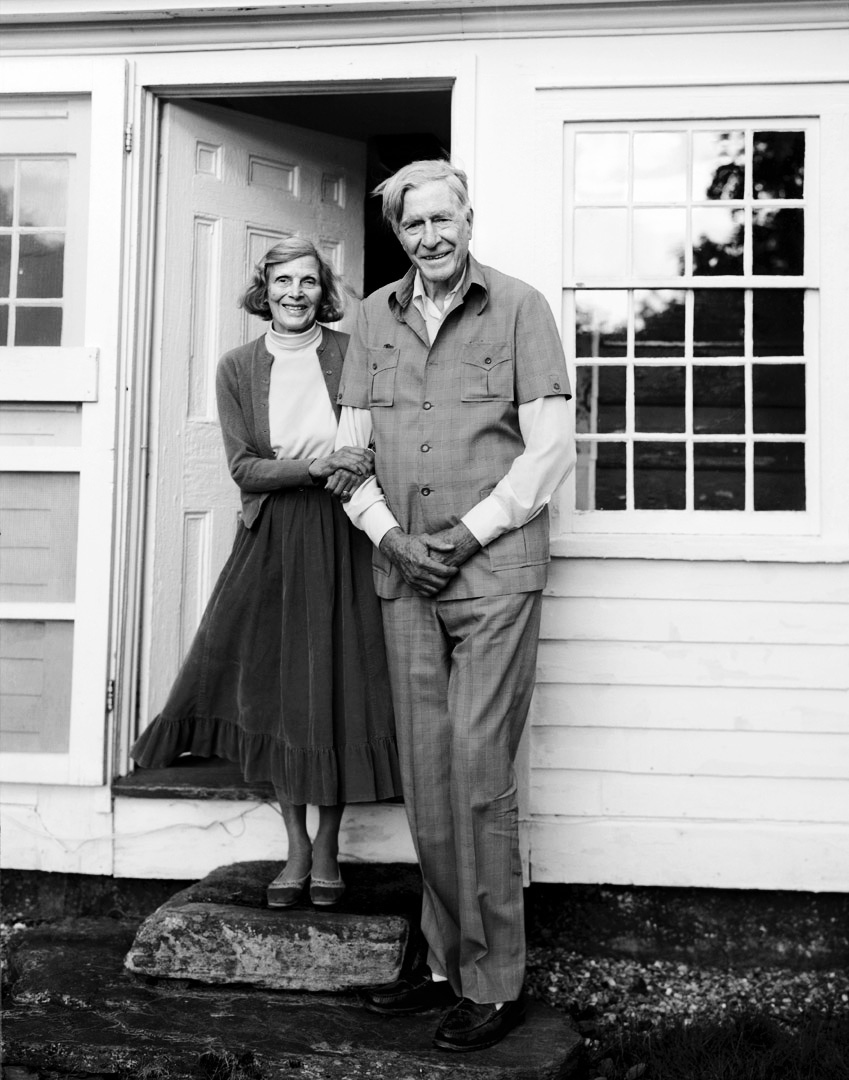 Catherine + John Kenneth Galbraith /  Newfane, VT