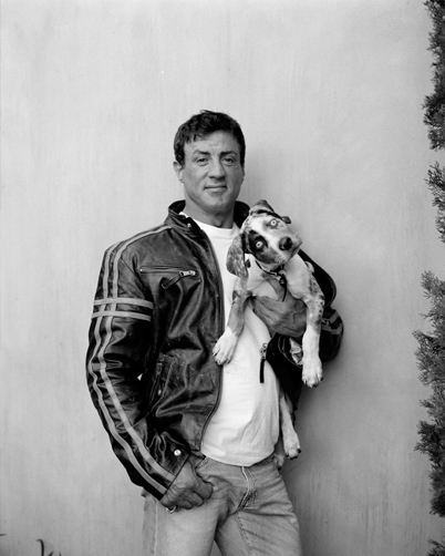 Sylvester Stallone + Poe / Los Angeles