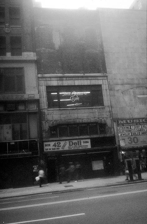 Times Square Gym Exterior