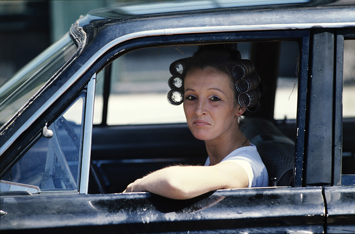 Woman Driver / South Boston / June 1977