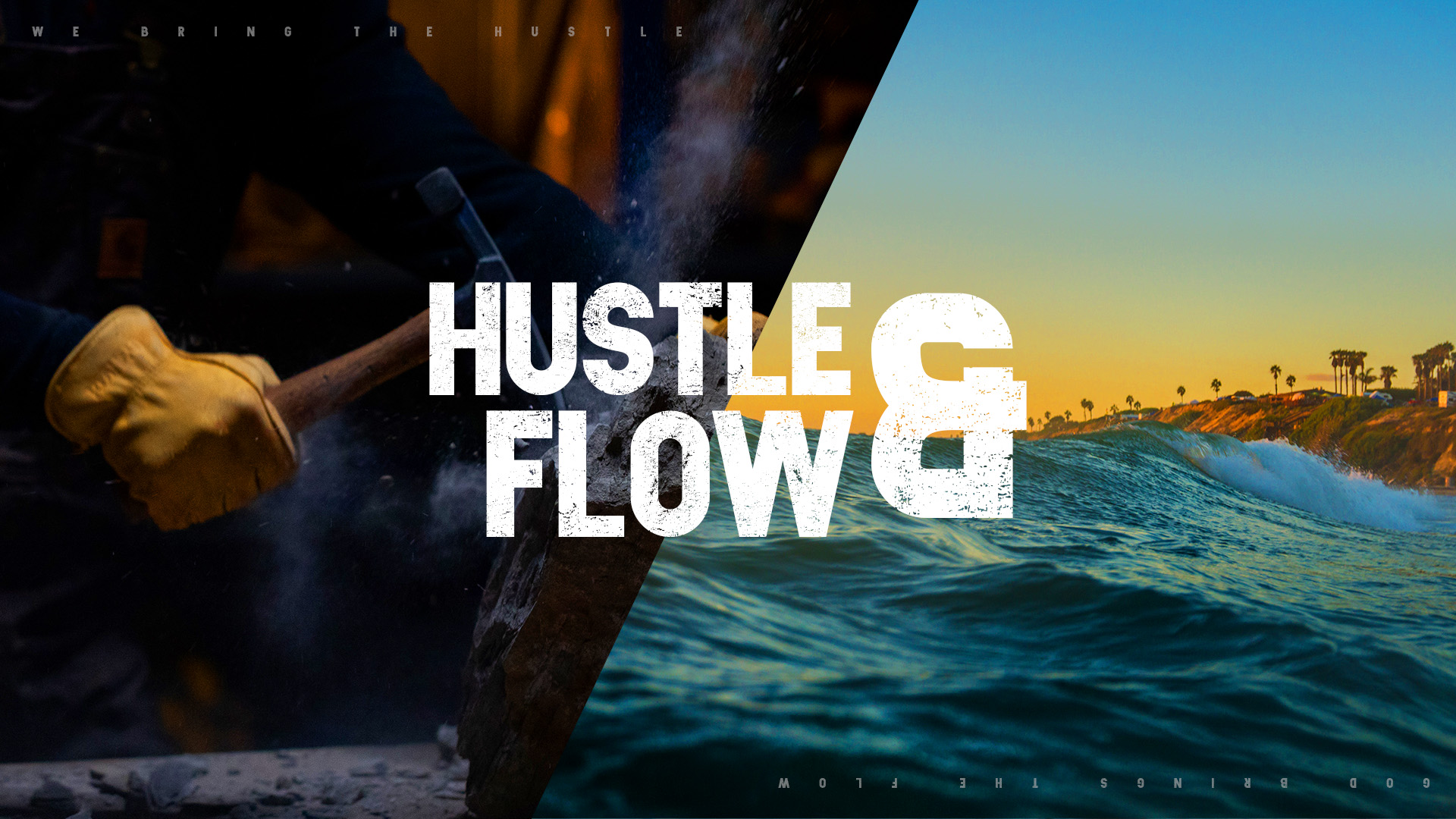 Discover how your hustle and God's flow are connected to bring about God's purposes in the earth through your life.