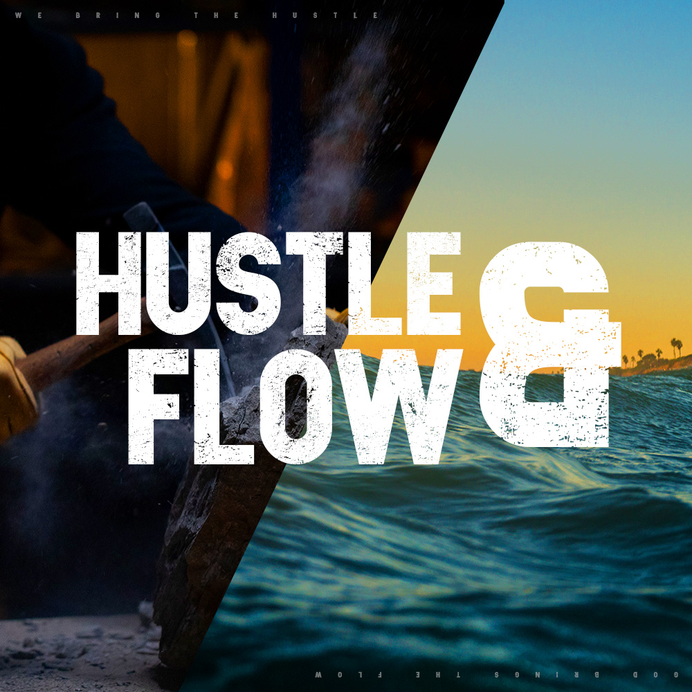 CURRENT SERIES OF SERMONS  God will bring the flow if we will bring the hustle. Discover what God can do through you in this powerful new series.