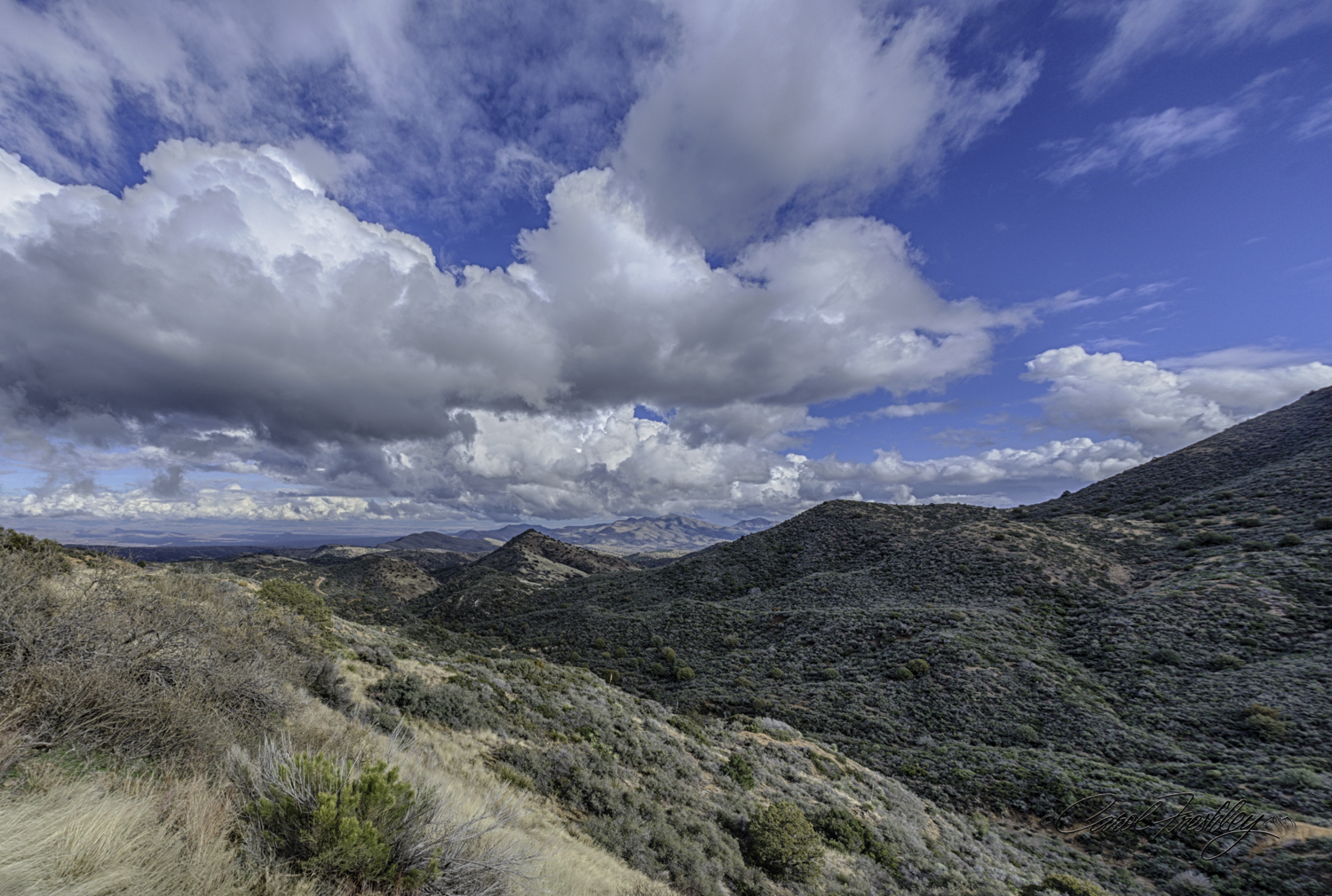 Taken from a point that is called Top of the World. Used my 15mm Sigma fisheye for this very wide shot.