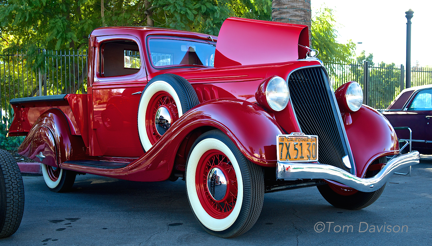1934 Terraplane. Very rare. One of the few pickups designed to compete with cars . . . art deco styling.