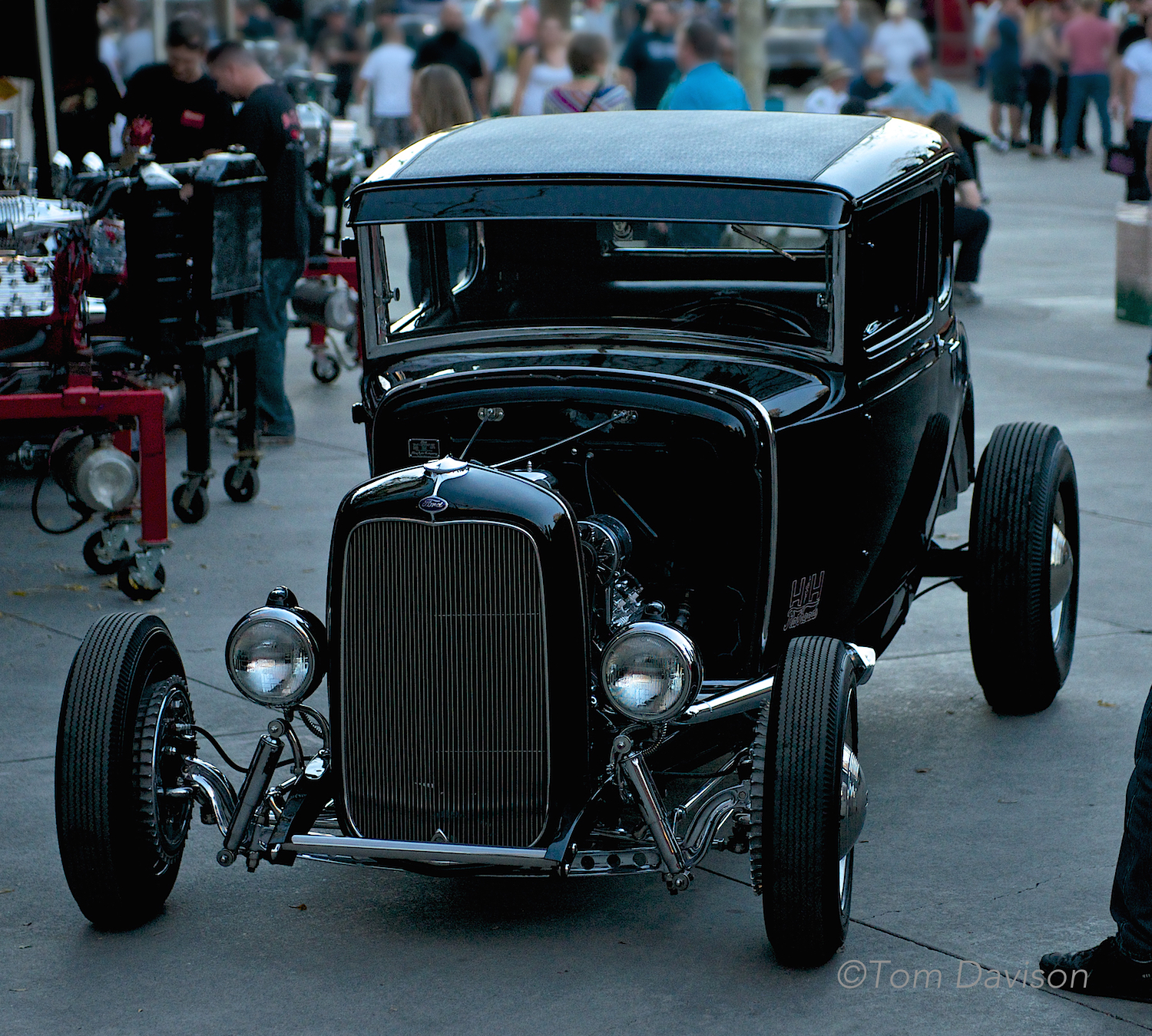 1931 Model A Coupe Hot Rod.