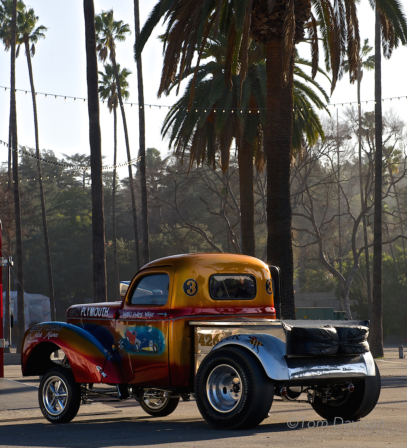 1941 Willys Pickup, awarded top award 50 years ago at this same show.
